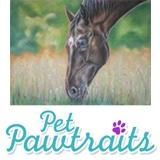 "Gorgeous original pet ""pawtraits"""